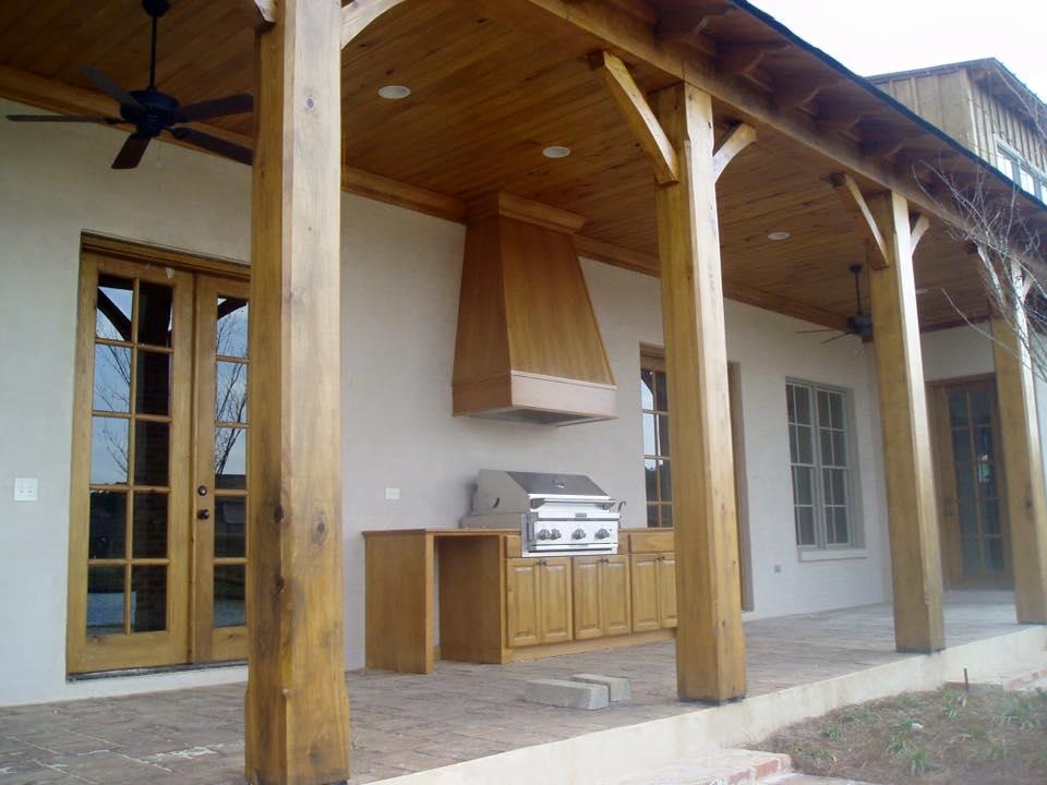 Cypress Wood Lumber Remodel Renovating Rustic